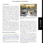 Compte-rendu de l'Annual Group Meeting (AGM) de BWARS à Cambridge (Angleterre)