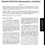 Observations en Loire-Atlantique (France) de Stenoria analis Schaum (Coleoptera, Meloidae), cleptoparasite de Colletes hederae Schmidt & Westrich (Hymenoptera, Colletidae)