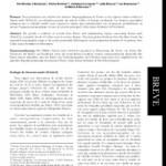 Synthèse des observations récentes de Stenoria analis Schaum (Col. Meloidae) en France et dans les régions voisines